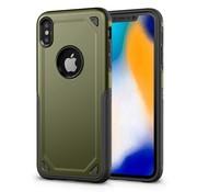 GSMWise Apple iPhone XS Max Hoesje - Harde Back Case Armor - Groen