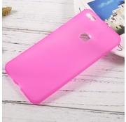 GSMWise Huawei P10 Lite Hoesje - Zachte Anti-slip TPU Back Case - Roze