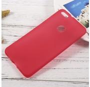 GSMWise Huawei P10 Lite Hoesje - Zachte Anti-slip TPU Back Case - Rood