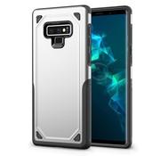 GSMWise Samsung Galaxy Note 9 Hoesje - Harde Back Case Armor - Zilver