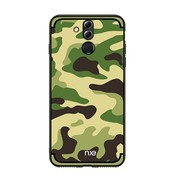 GSMWise Huawei Mate 20 Lite Hoesje - Back Case Camouflage Stijl - Groen