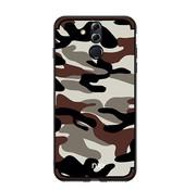 GSMWise Huawei Mate 20 Lite Hoesje - Back Case Camouflage Stijl - Bruin