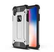 GSMWise Apple iPhone XR Hoesje - Extreme Back Case - Zilver