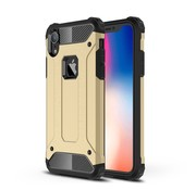 GSMWise Apple iPhone XR Hoesje - Extreme Back Case - Goud