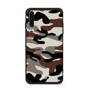 GSMWise Huawei P30 Hoesje - Back Case Camouflage Stijl - Bruin