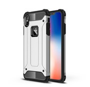 GSMWise Apple iPhone XS Max Hoesje - Extreme Back Case - Zilver