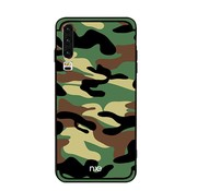 GSMWise Huawei P30 Hoesje - Back Case Camouflage Stijl - Groen