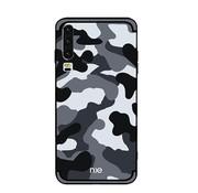 GSMWise Huawei P30 Hoesje - Back Case Camouflage Stijl - Grijs