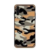 GSMWise Huawei P30 Hoesje - Back Case Camouflage Stijl - Geel