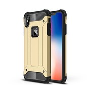 GSMWise Apple iPhone XS Max Hoesje - Extreme Back Case - Goud