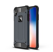 GSMWise Apple iPhone XS Max Hoesje - Extreme Back Case - Blauw