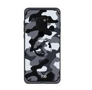 GSMWise Huawei Mate 20 Pro Hoesje - Back Case Camouflage Stijl - Grijs