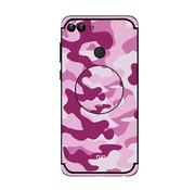 GSMWise Huawei P Smart (2018) Hoesje - Back Case Camouflage Stijl - Roze