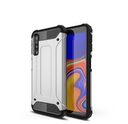 GSMWise Samsung Galaxy A7 (2018) Hoesje - Extreme Back Case - Zilver