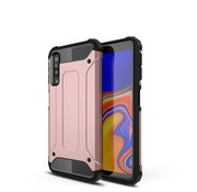 GSMWise Samsung Galaxy A7 (2018) Hoesje - Extreme Back Case - Roze Goud