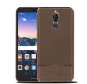GSMWise Huawei Mate 10 Lite Hoesje - Geborsteld Flexibele TPU Back Case - Bruin