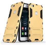 GSMWise Huawei P10 Lite Hoesje - Hybride Hard Case met standaard - Goud