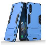 GSMWise Huawei P30 Hoesje - Hybride Hard Case met standaard - Blauw