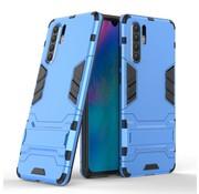 GSMWise Huawei P30 Pro Hoesje - Hybride Hard Case met standaard - Blauw