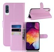 GSMWise Samsung Galaxy A50 Hoesje - Wallet Case - Roze