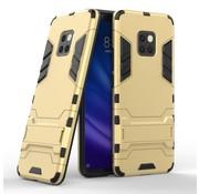 GSMWise Huawei Mate 20 Pro Hoesje - Hybride Hard Case met standaard - Goud