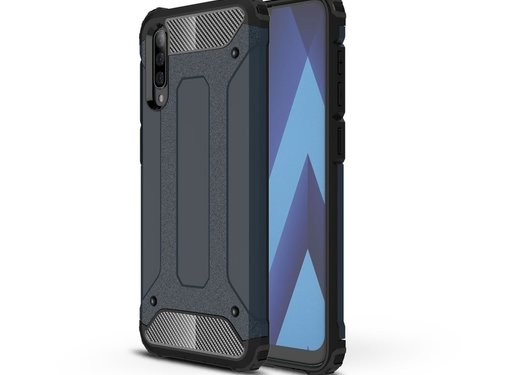 GSMWise Samsung Galaxy A50 Hoesje - Extreme Back Case - Blauw