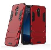 GSMWise Huawei Mate 20 Lite Hoesje - Hybride Hard Case met standaard - Rood