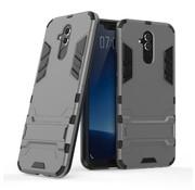 GSMWise Huawei Mate 20 Lite Hoesje - Hybride Hard Case met standaard - Grijs
