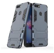 GSMWise Huawei P Smart (2018) Hoesje - Hybride Hard Case met standaard - Blauw