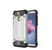 GSMWise Huawei P Smart (2018) Hoesje - Extreme Back Case - Zilver