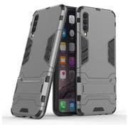 GSMWise Samsung Galaxy A50 Hoesje - Hybride Hard Case met standaard - Grijs