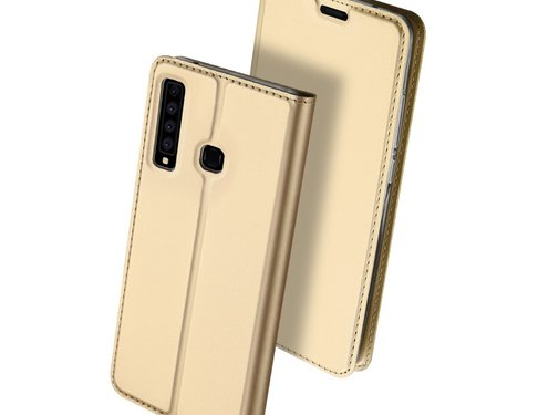 GSMWise Samsung Galaxy A9 (2018) Hoesje - Business Book Case - Goud