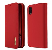 GSMWise Apple iPhone XR Hoesje - Business Book Case - Rood