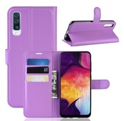 GSMWise Samsung Galaxy A50 Hoesje - Wallet Case - Paars