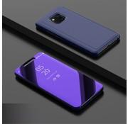 GSMWise Huawei Mate 20 Pro Hoesje - Window View Case - Blauw
