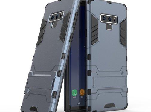 GSMWise Samsung Galaxy Note 9 Hoesje - Hybride Hard Case met standaard - Blauw