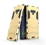 GSMWise Samsung Galaxy Note 9 Hoesje - Hybride Hard Case met standaard - Goud
