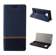 GSMWise Samsung Galaxy Note 9 Hoesje - Denim Book Case - Blauw