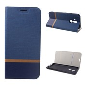 GSMWise Huawei Mate 20 Lite Hoesje - Denim Book Case - Blauw