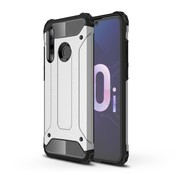 GSMWise Huawei P Smart Plus (2019) Hoesje - Extreme Back Case - Zilver