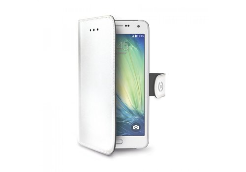 Celly - Case Wally PU Samsung Galaxy A7 Wit