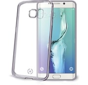 Celly Celly - Cover Gelskin Laser Galaxy S6  Edge - Zilver