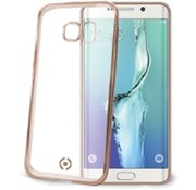 Celly Celly - Cover Gelskin Laser Galaxy S6 Edge - Goud