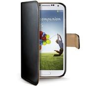 Celly Celly - Wally Book Case Samsung Galaxy S4 - Zwart
