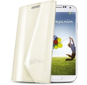 Celly Celly Lady Wally booktype Samsung Galaxy S4 - wit