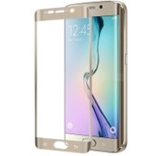 Celly Celly - Glass Screenprotector Samsung Galaxy S6 Edge Plus - Goud
