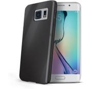 Celly Celly - Gelskin voor Samsung Galaxy S6 Edge - Zwart