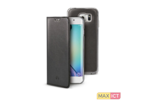Celly - Samsung Galaxy S6 Edge Buddy Case- Zwart
