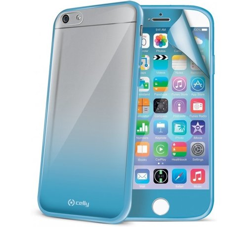 Celly Celly - Sunglasses hardcase hoesje - iPhone 6 / 6s - turquoise