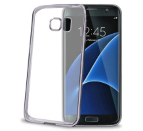 Celly Celly Laser Cover voor galaxy S7 Edge - blauw